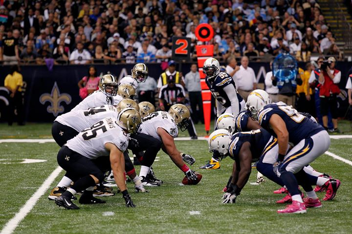 Image result for Saints vs Chargers pic