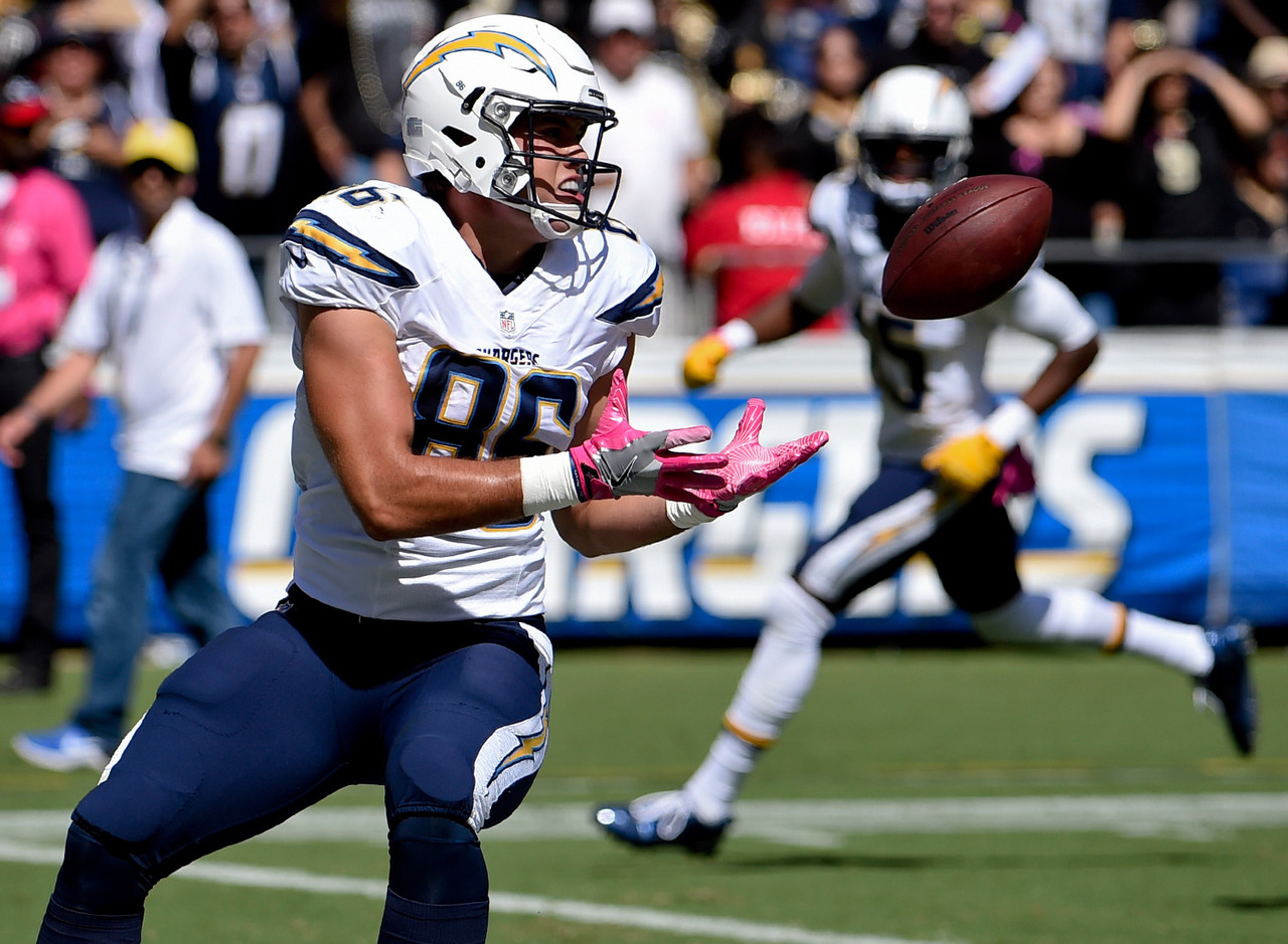 Hunter Henry Is Looking Like A Much Needed Offensive