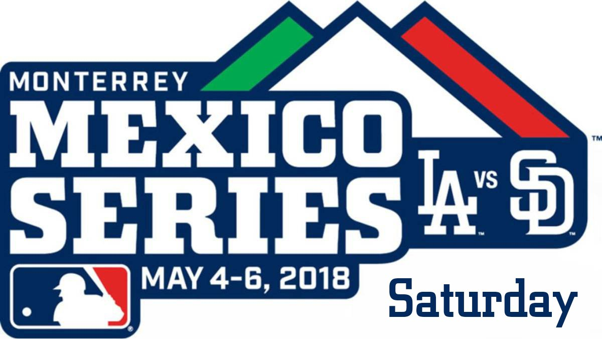 Padres Dodgers Travel to Monterrey  f87f318b7